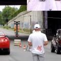 Drag racing în Moldova: Un VAZ 2121 Niva bate un Nissan GT-R
